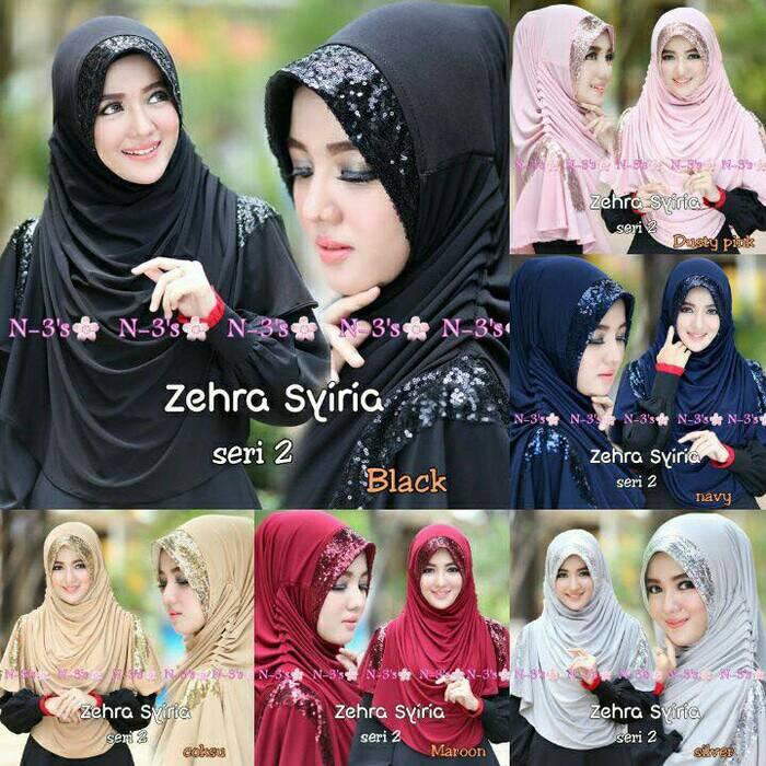 Jilbab/hijab/khimar Zehra Syiria