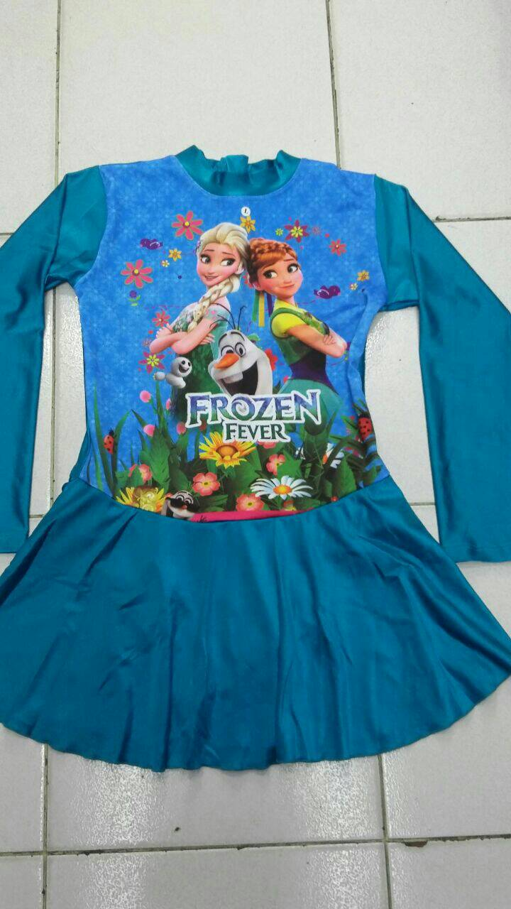Game Frozen Baju Jual Baju Renang Anak Muslim Frozen Size