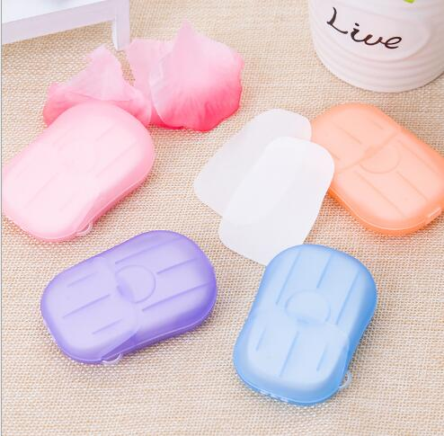 Sabun Kertas Praktis 11 Mungil / Travel Paper Soap Untuk Travelling