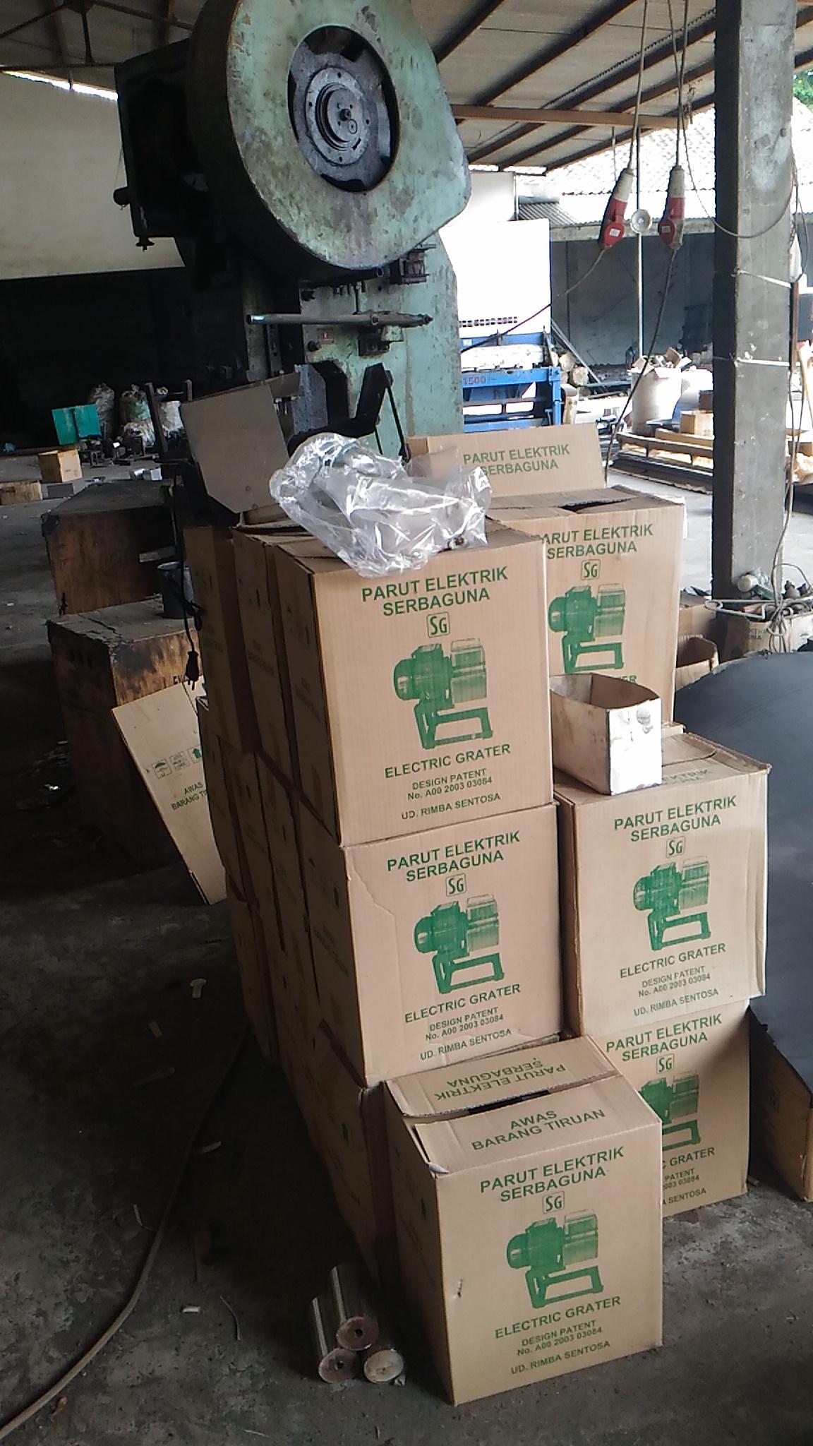 Parutan Kelapa Mesin Listrik Murah Gratis Packing