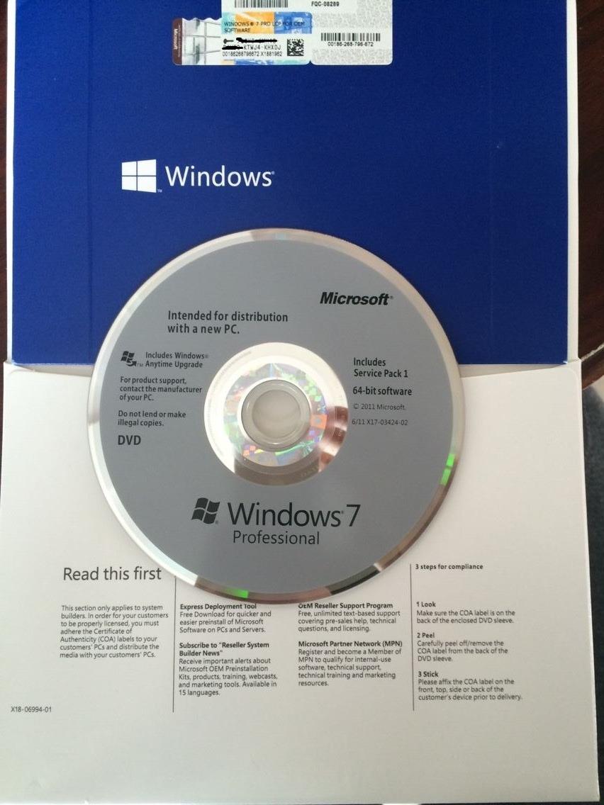 Jual Windows 7 Pro 32 Bit Saishop Tokopedia Original Professional 64 Full Pack Oem Bergaransi