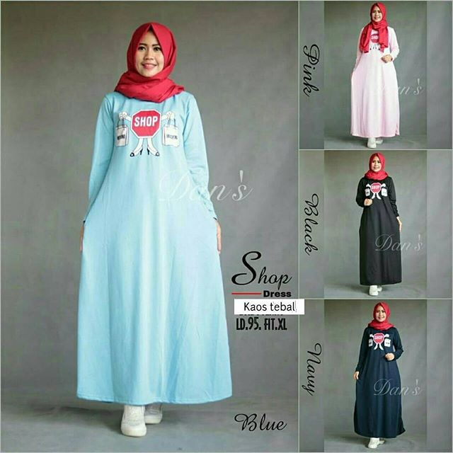 Baju Hijab Murah Shopis Dress