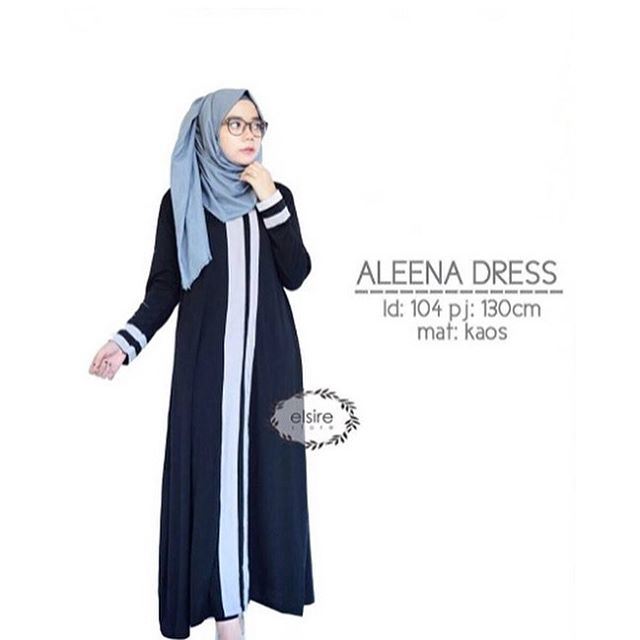 Baju Hijab Murah Aleena Dress