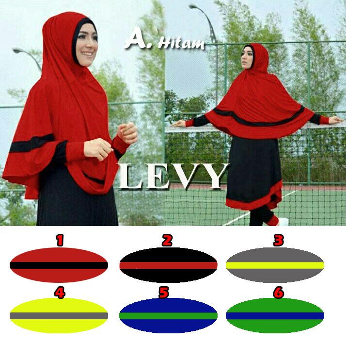 jilbab / hijab levy jersey