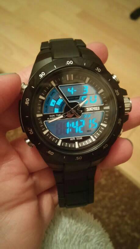 SKMEI Dual Time New Style Original (G-Shock, Digitec, Swiss Army)