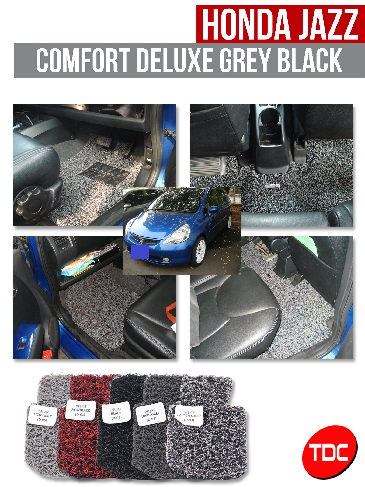 JAZZ ALL NEW > 2013 MOBIL HONDA KARPET COMFORT DELUXE 12