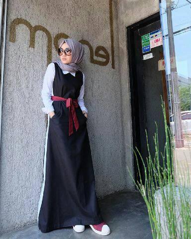 Baju Mislim Wanita/Monella Dress/Hijab Modis Murah/Gamis