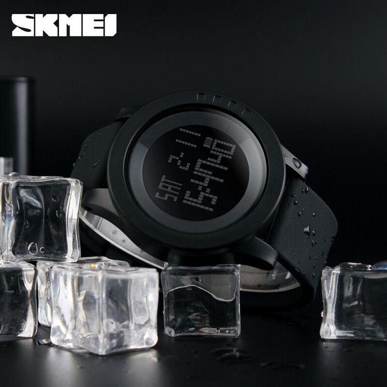SKMEI Trendy Men LED Display Watch Water Resistant 50m - DG1142 ORI