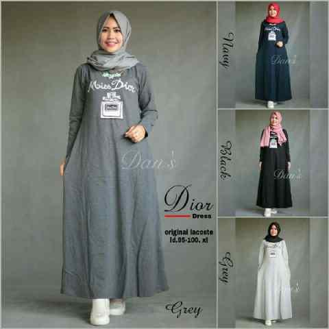b dior dress matt combet _selalu restock (gamis,hijab)