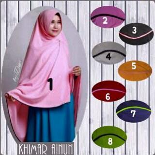d Kimar ainun bahan balon jersey /kerudung/hijab/pasmina/syari
