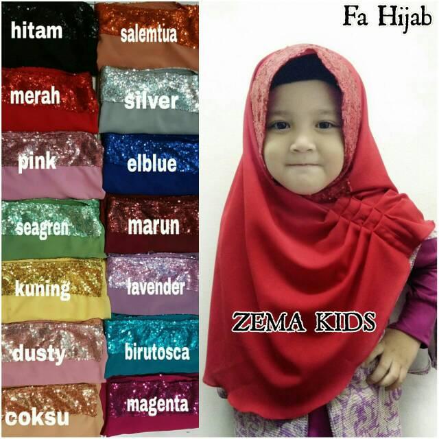 Zema Kids Ori Fa Hijab