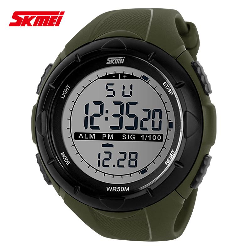 jual jam tangan Pria wanita SKMEI S-Shock minimalis Sport Watch