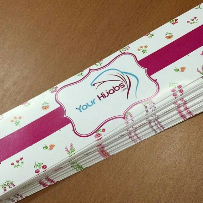 hijab roller label (5x20 cm)