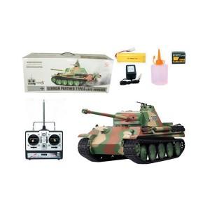 Heng Long 1:16 2.4Ghz German Panther Type G (Sound and Smoke) 3879-1