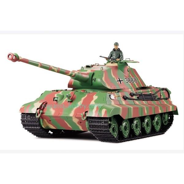 Heng Long German King Tiger 1/16 2.4Ghz (smoke & sound) (3888-1)
