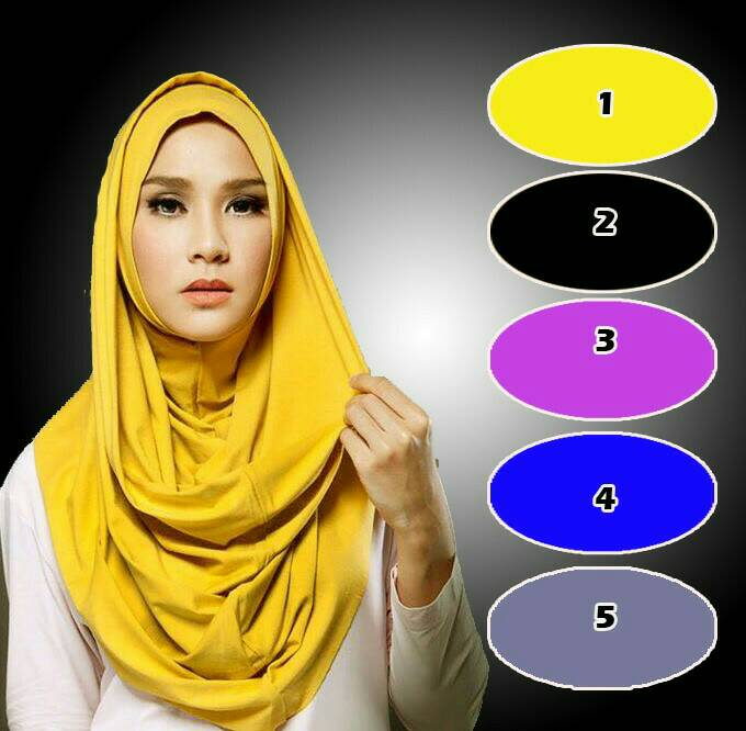 jilbab instan/kerudung/kerudung instan/hijab mecca