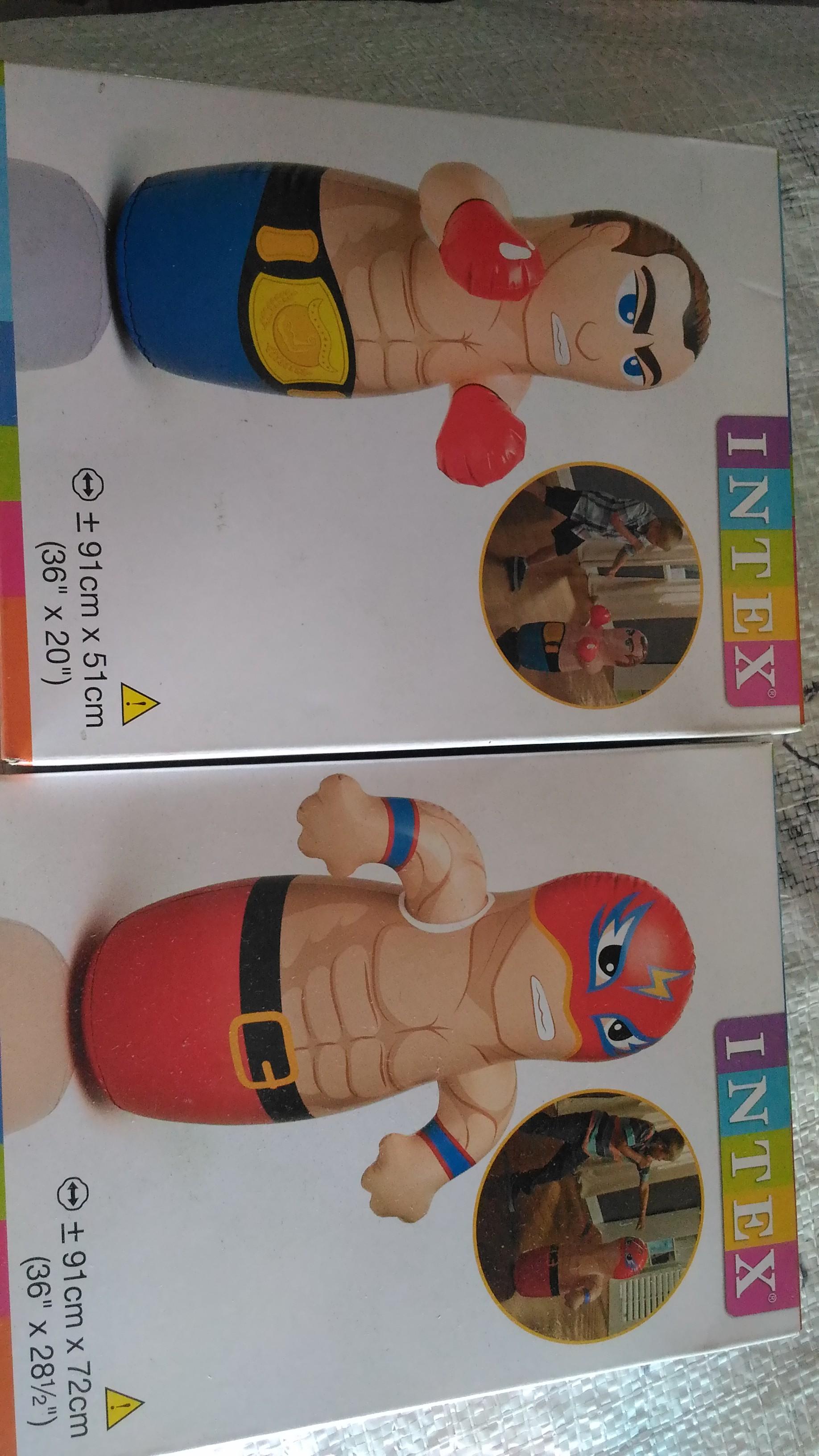 Jual Balon Tinju Besar Mainan Berdiri Punching Sack Intex Ori Kepo Belanja Tokopedia