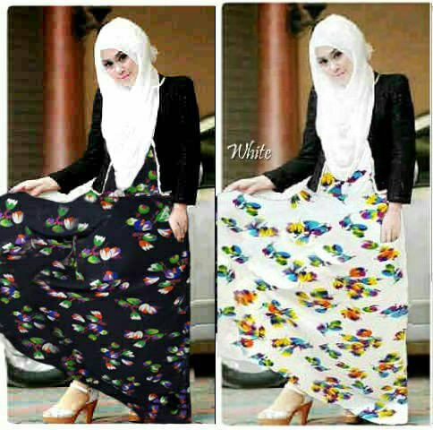 Hijab Eliza Flower 3in1
