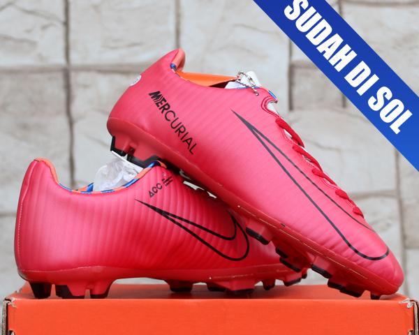 Jual Sepatu Bola Nike Mercurial Superfly Merah Grade Ori - Uda ... 44264112a3