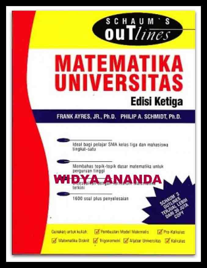 Schaums Outlines : MATEMATIKA UNIVERSITAS ED.3