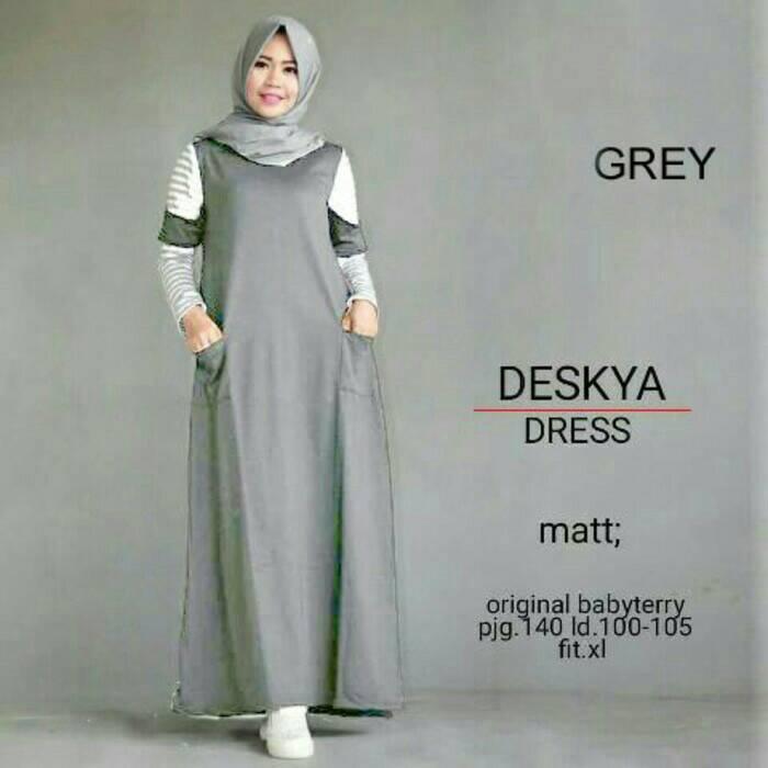 Jual baju muslim baju gamis gamis anak muda baju lebaran Baju gamis anak muda