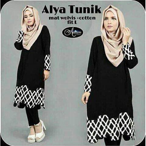 Baju Hijab Murah Ayla Tunik