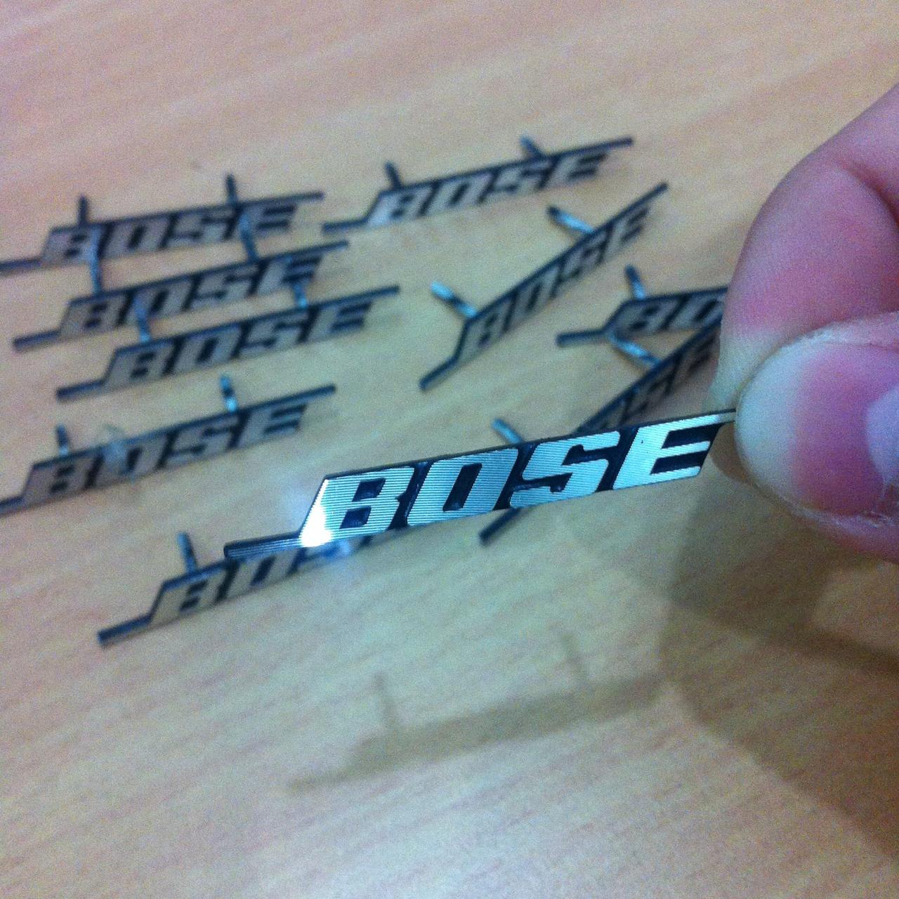 Emblem Bose Honda BRV | Honda Mobilio | Honda Brio | Jazz