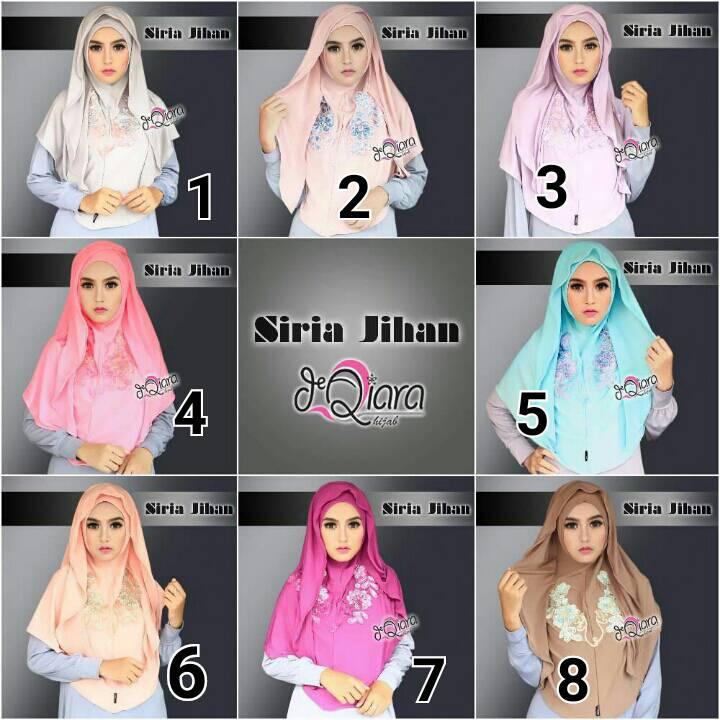 jual jilbab hoodie siria jihan by dqiara hijab