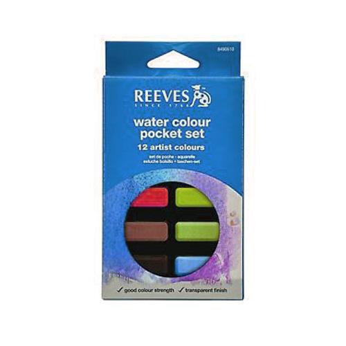 Reeves Water Color Pocket Set 12