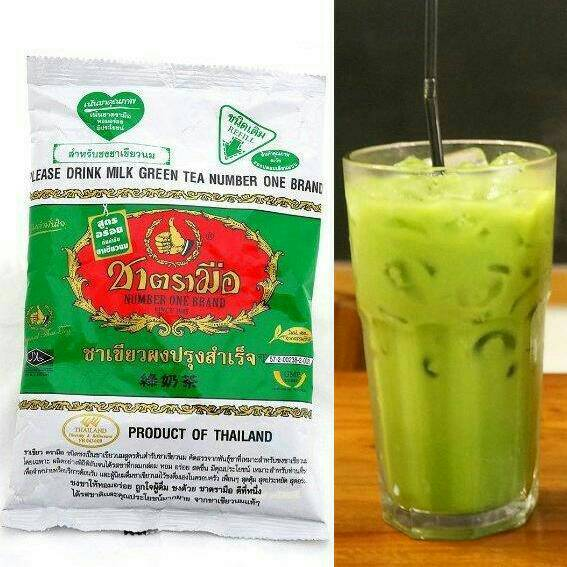 Jual Teh Hijau Import dari Thailand / Teh Thai Green Tea ...