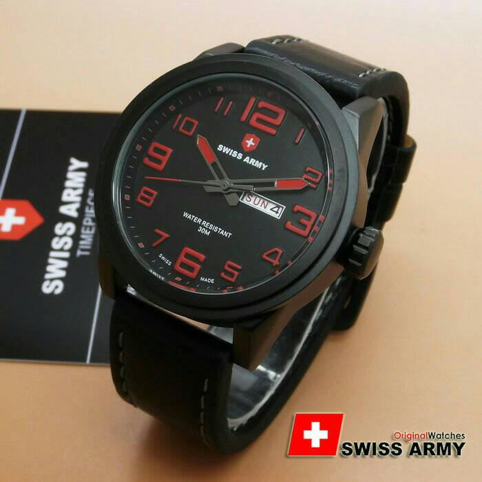 ORIGINAL Swiss Army 6401M 1 Year Guarated