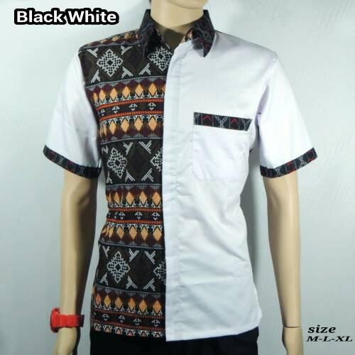 Ulasan Produk Kemeja Batik Pria  Baju Batik Kombinasi Songket