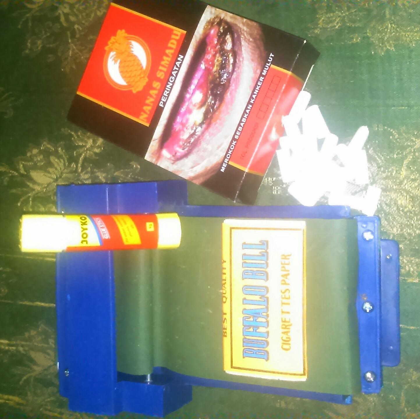Jual Alat Lintingtembakau Rasapapirlemfilter Satu Set Thian Linting Rokok Atau Mesin Thiansmole Tokopedia