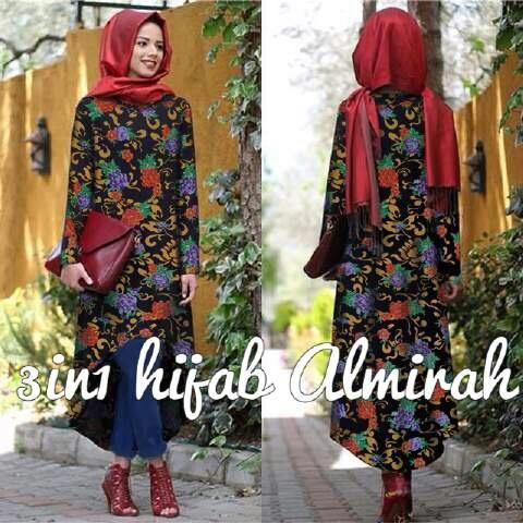 CJN-3in1 Almirah Hijab / SETELAN HIJAB