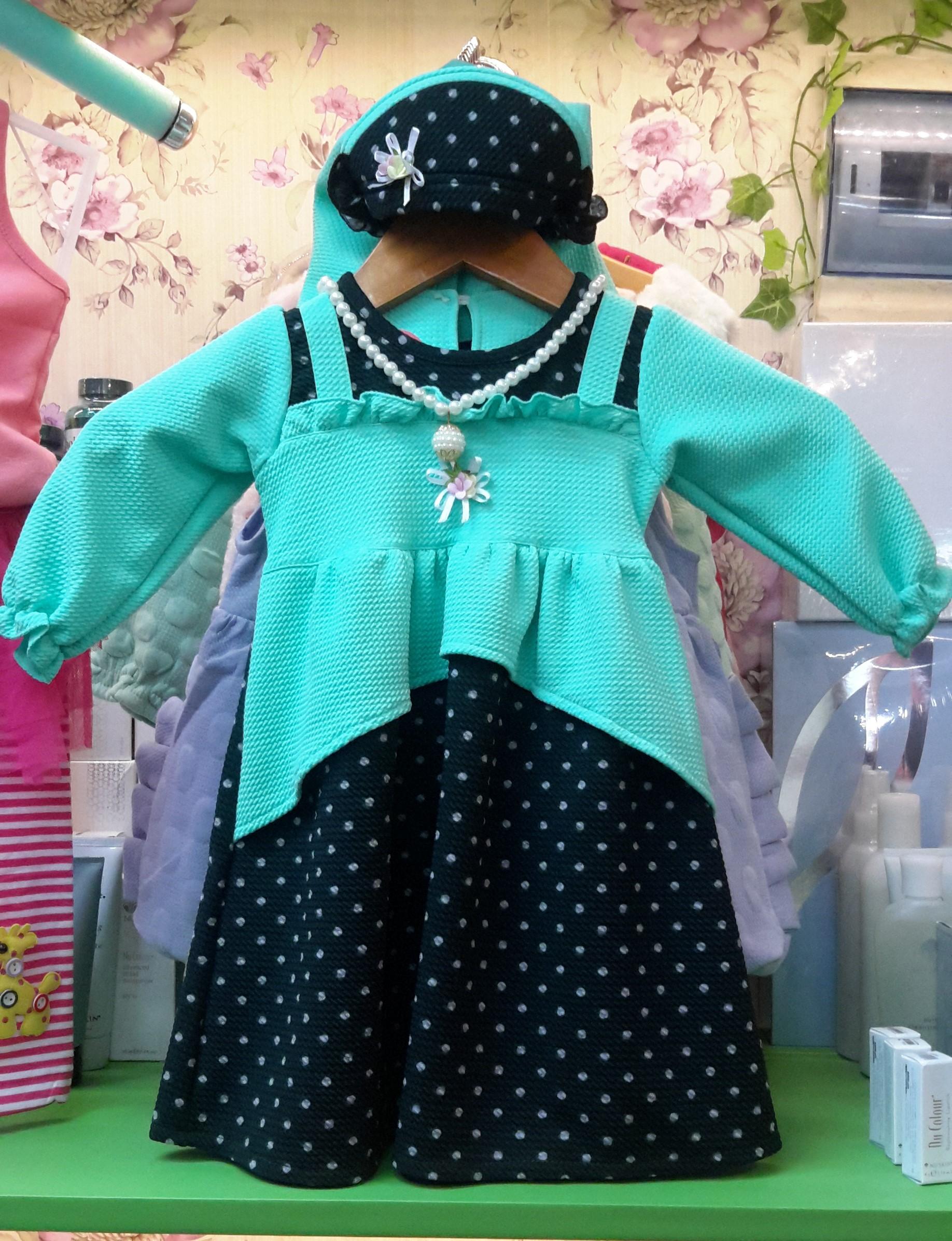 Jual Gamis Anak Perempuan Baju Muslim Bayi Baju Lebaran