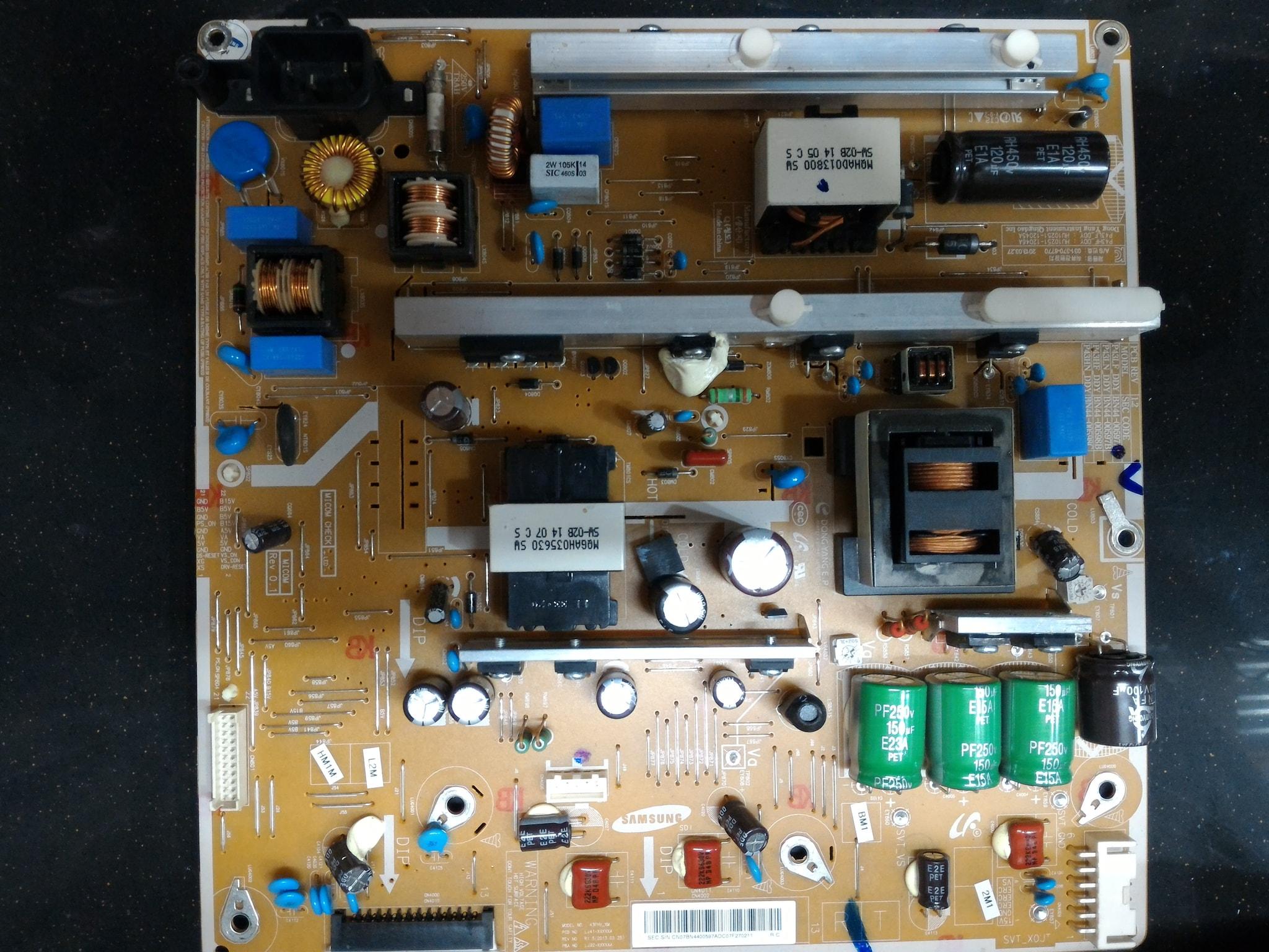 samsung tv power supply. samsung tv power supply r