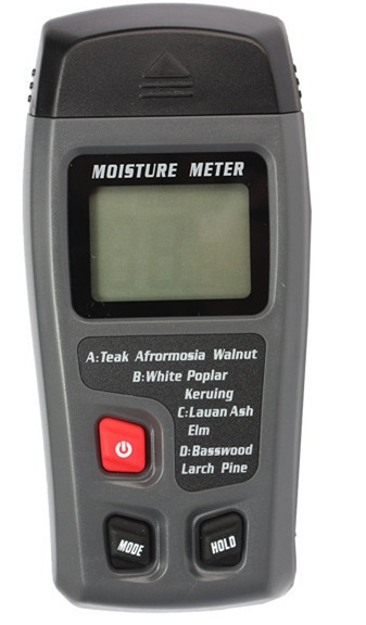 Portable LCD Digital Wood Moisture Meter Detector Tester 0~99.9