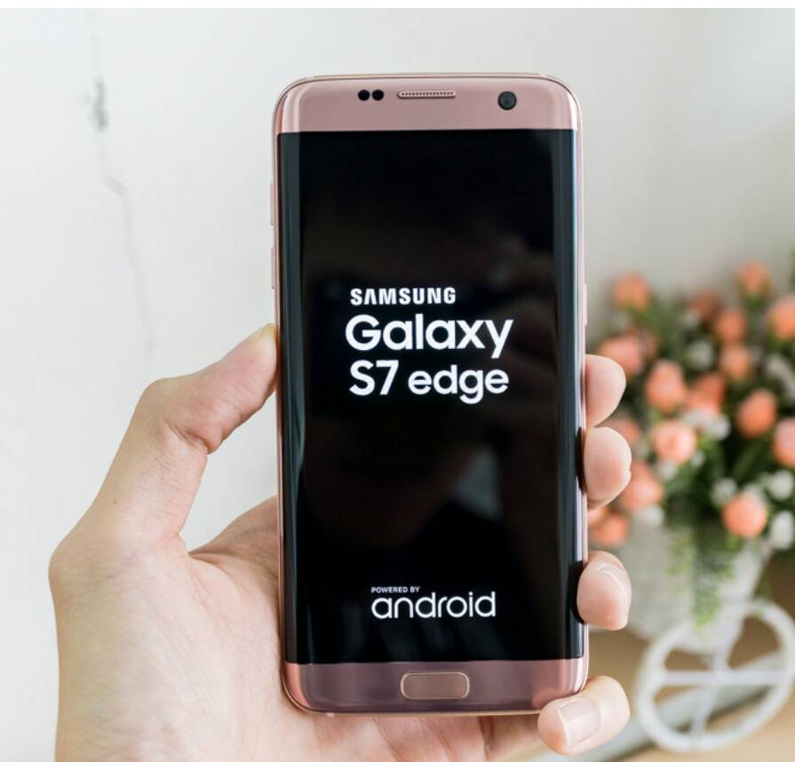 jual samsung galaxy s7 edge duos 32gb pink gold bnib. Black Bedroom Furniture Sets. Home Design Ideas