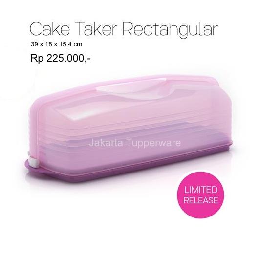 Jual Tupperware Cake Taker Merah HargaTrend 2018 Source · tupperware cake taker jual tupperware cake taker rectangular jakartatupperware