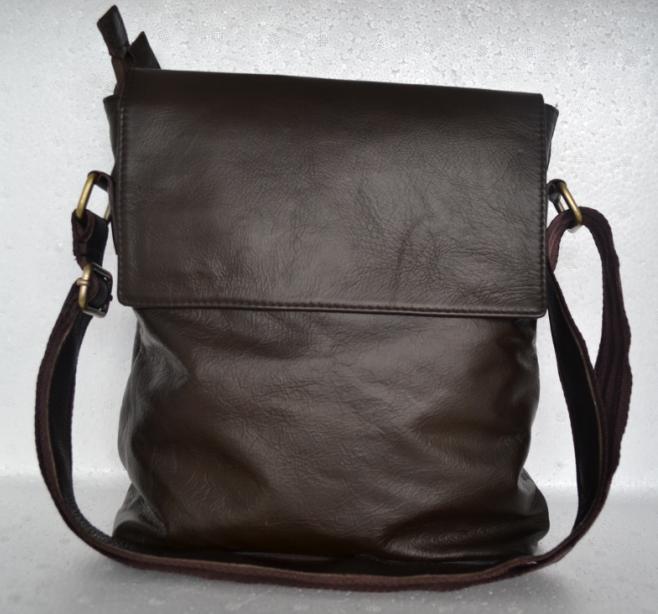 Jual tas kulit asli selempang modis - 3Ariffin Leather  4587c97cdf