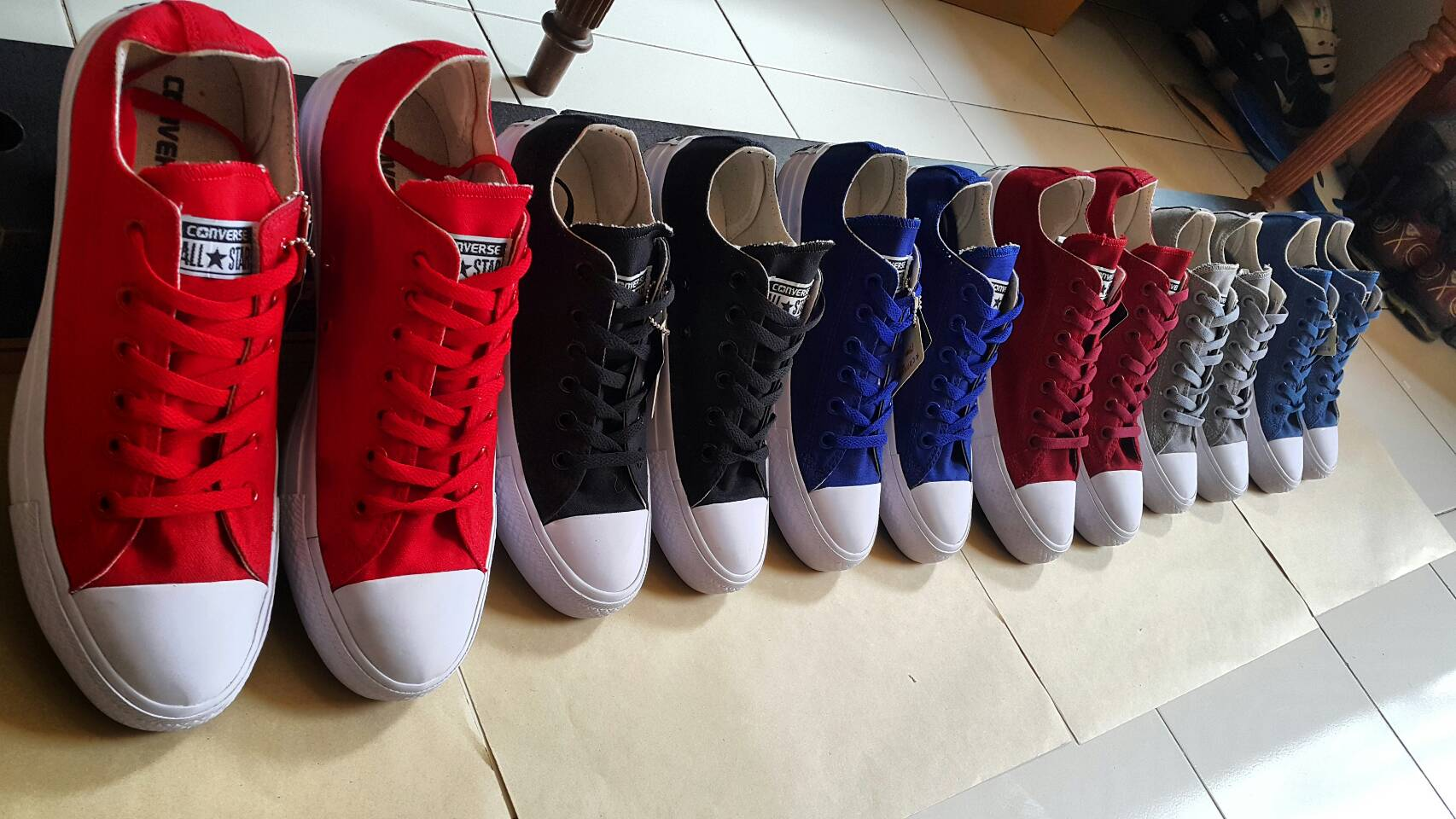Jual Sepatu Converse All Stars II Grade Ori asli Pabrik - Enjoyshop96 ... 3eab86dad8