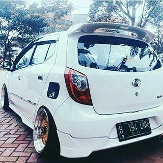 spoiler mugen ayla agya model jazz rs