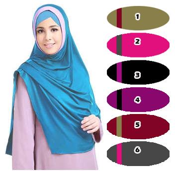 hijab / jilbab hazna non pet