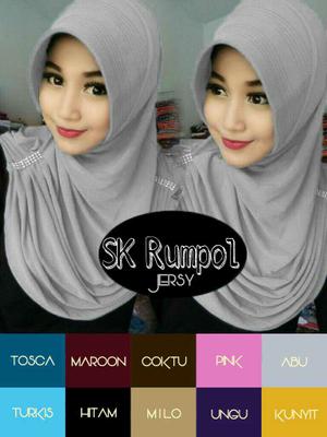 Hijab/Jilbab Instan Instant SK Rumpol
