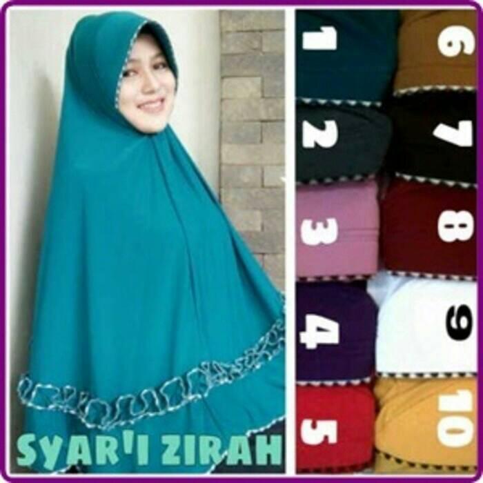 jilbab syari / syar'i / hijab syari / jilbab jumbo / syari jumbo