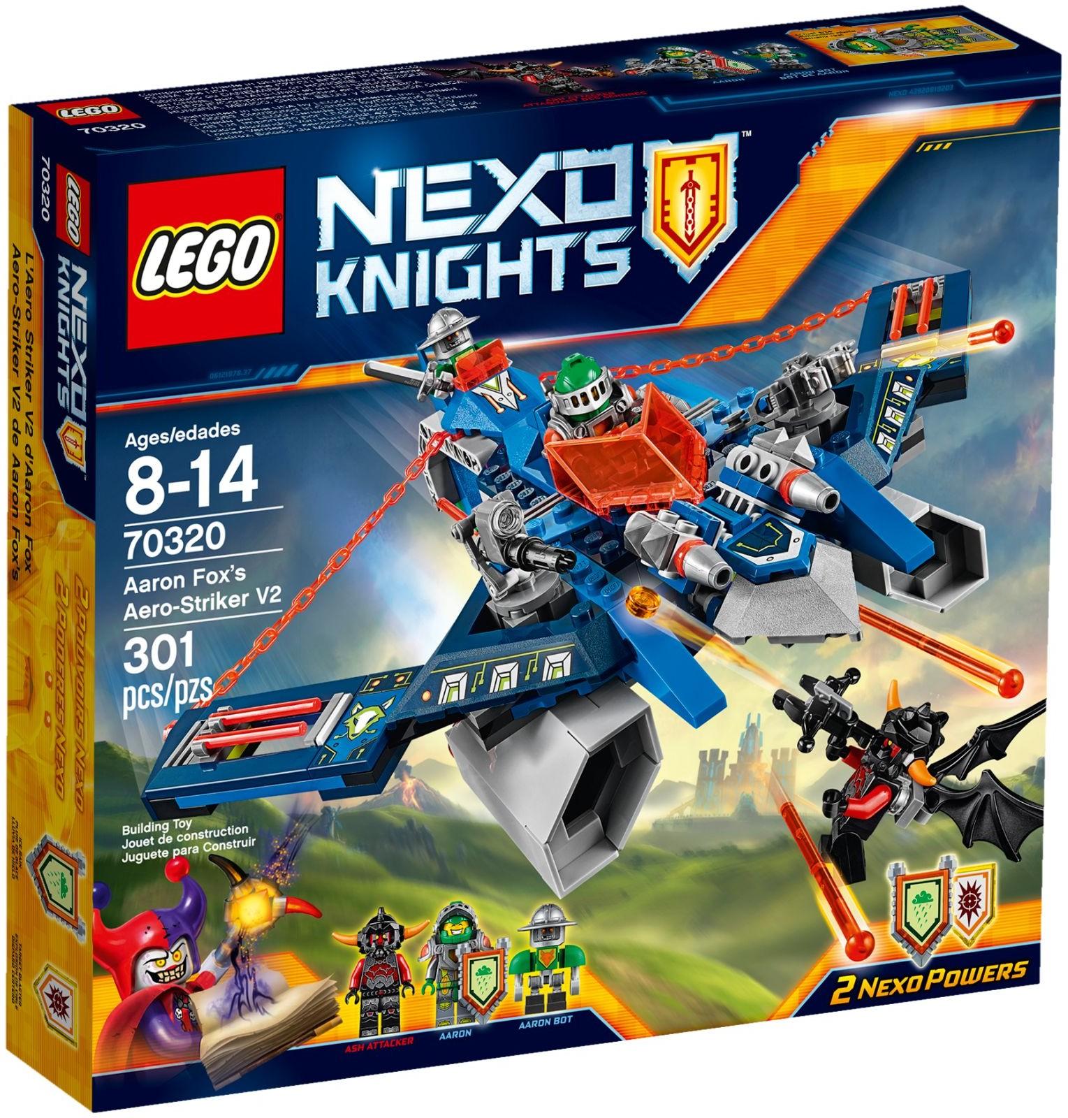 LEGO # 70320 NEXO KNIGHTS Aaron Foxs Aero-Striker V2