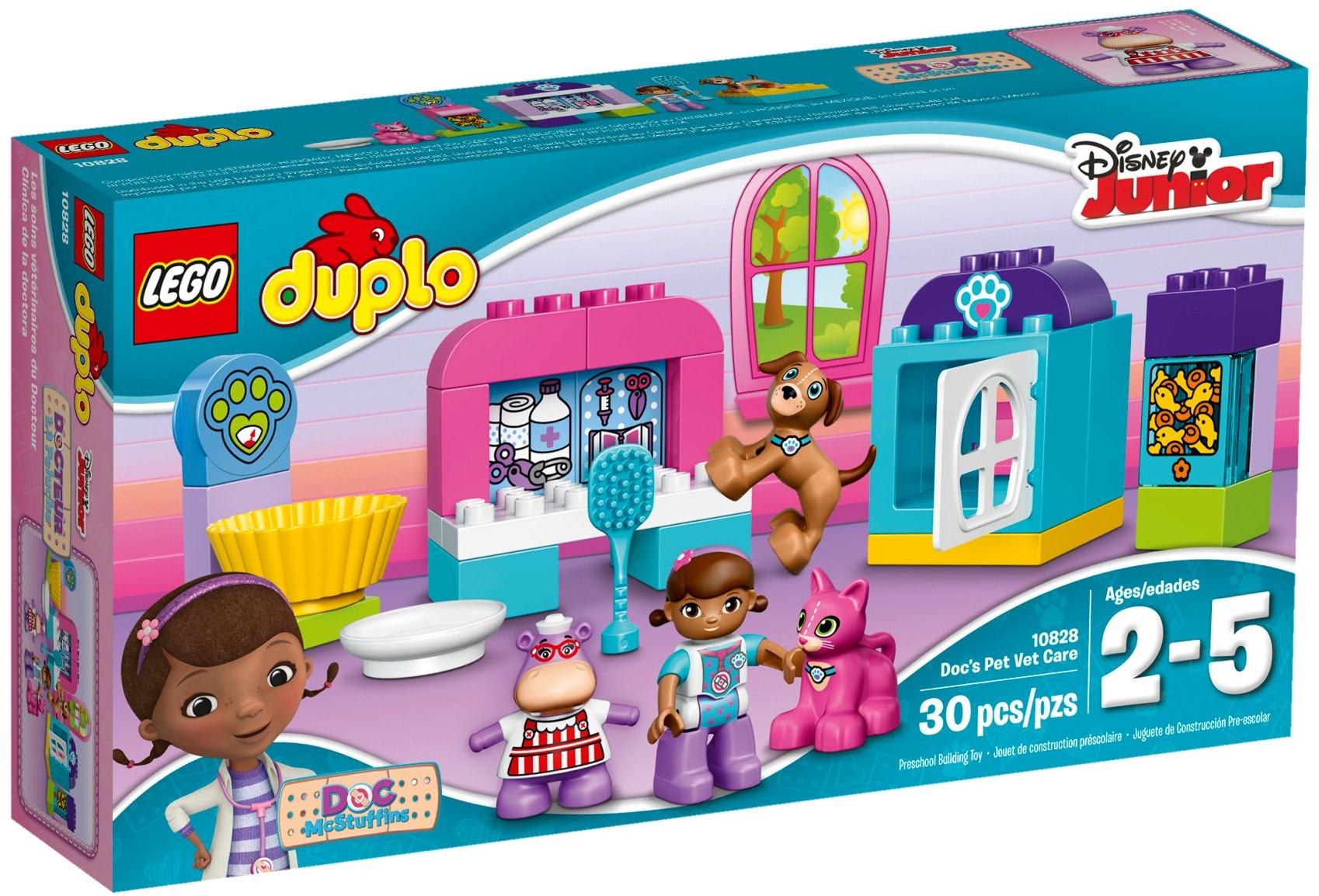 LEGO # 10828 DUPLO Doc McStuffins Pet Vet Care
