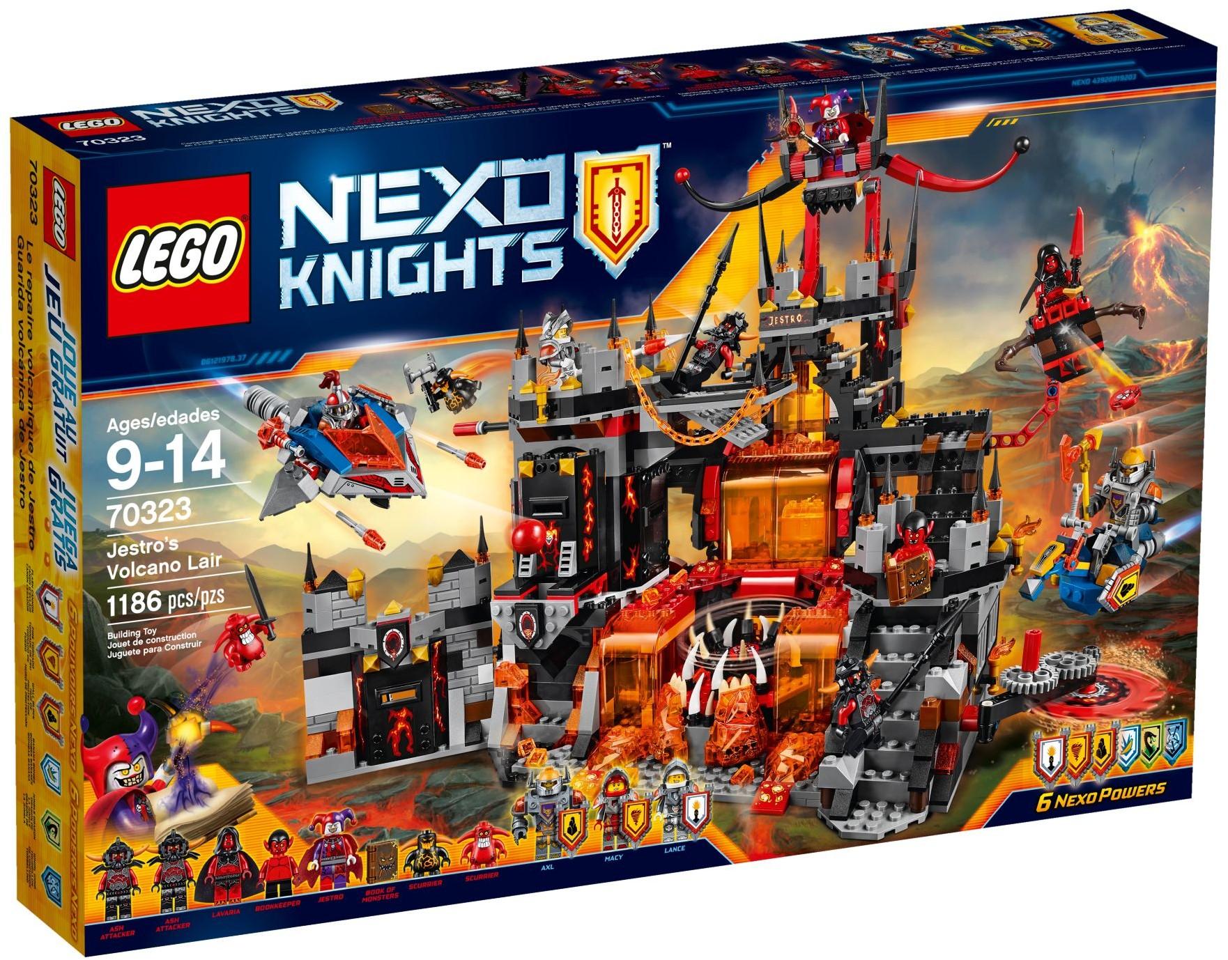 LEGO # 70323 NEXO KNIGHTS Jestros Volcano Lair
