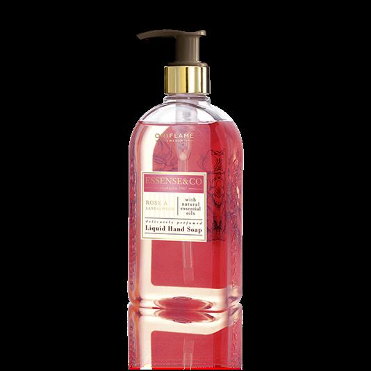 Essence&co. Rose & Sandalwood Liquid Hand Soap