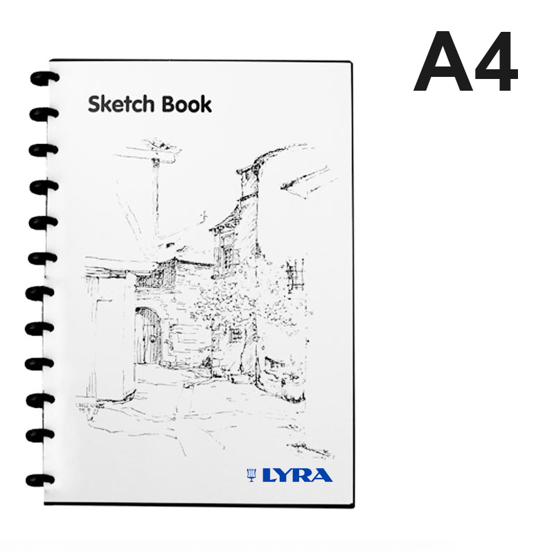 lyra sketch book a4 isi 36